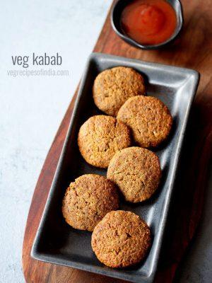 veg kabab recipe, kebab recipe