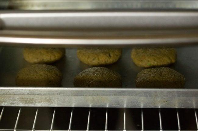 baking kabab - making vegetable kabab recipe