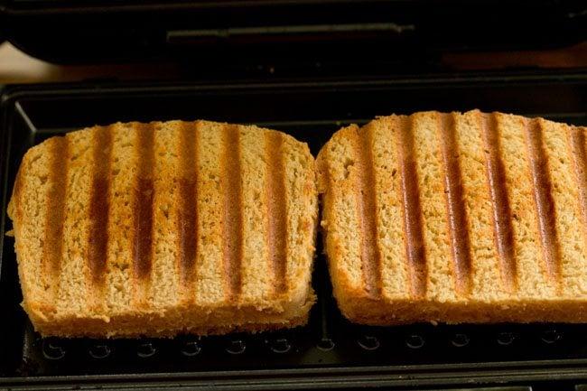 grilled veg pizza sandwich recipe