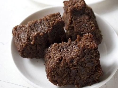 eggless banana chocolate cake recipe