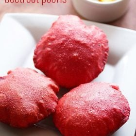 beetroot poori recipe