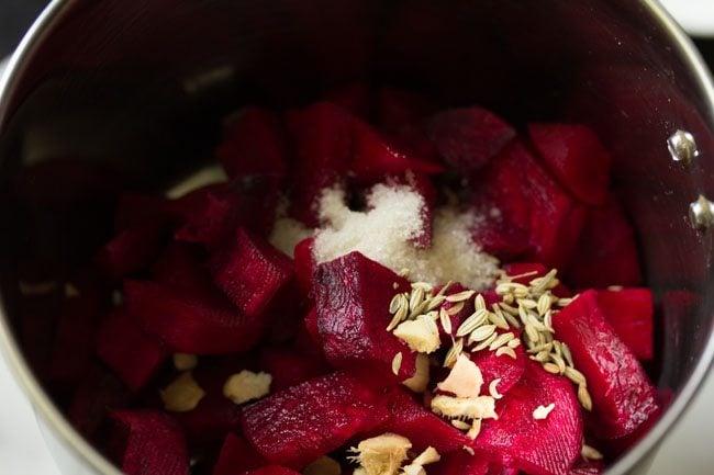 beetroot to make beetroot poori recipe