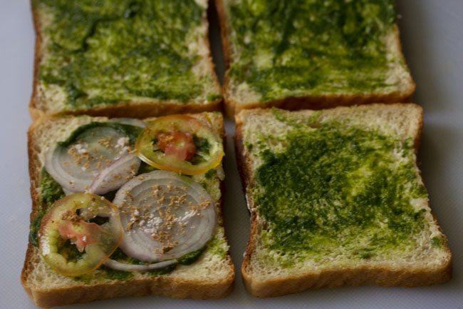 making cheese toast sandwich recipe