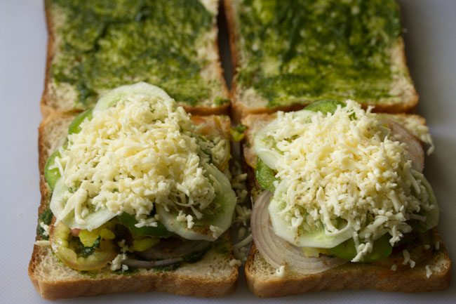 preparing cheese toast sandwich recipe