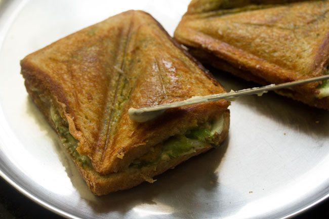 mumbai cheese toast sandwich recipe
