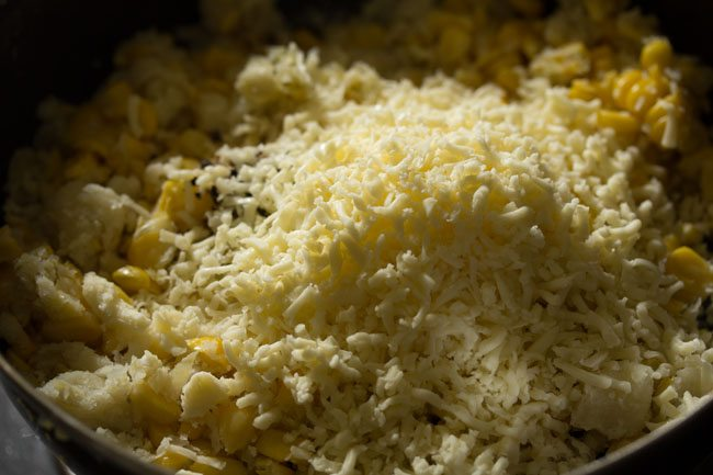making cheese corn balls recipe