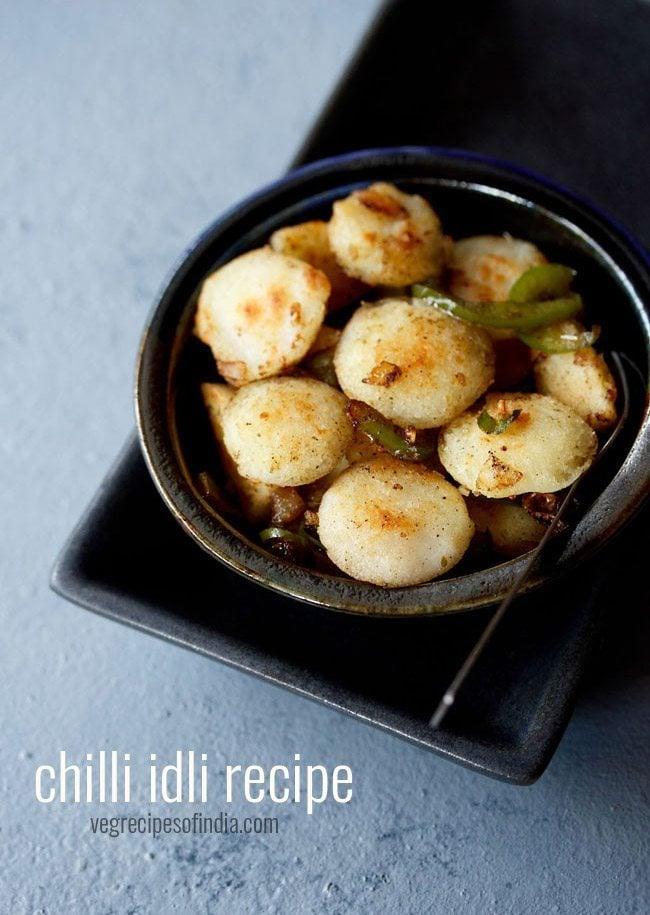 chilli idli recipe | chilli idli fry recipe | how to make idli chilli recipe