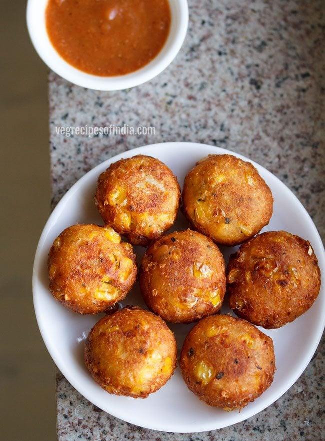 cheese corn balls recipe