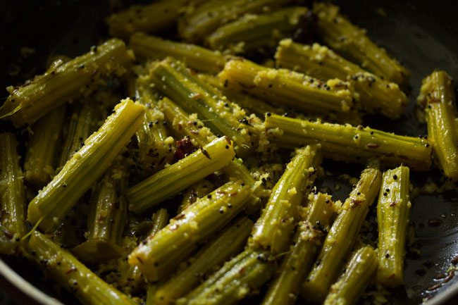 drumstick bhaji recipe, drumstick sabzi recipe