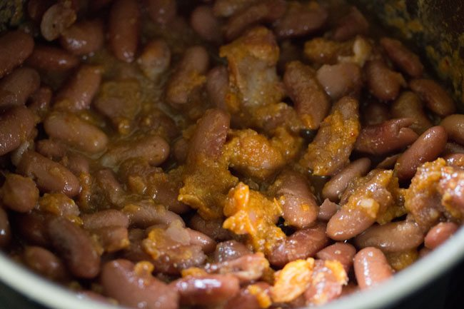 making jammu rajma masala recipe