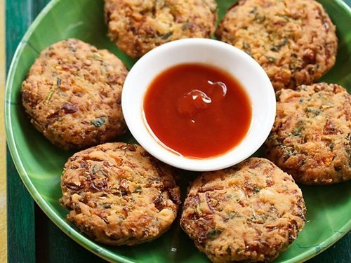 mix veg dal vada recipe
