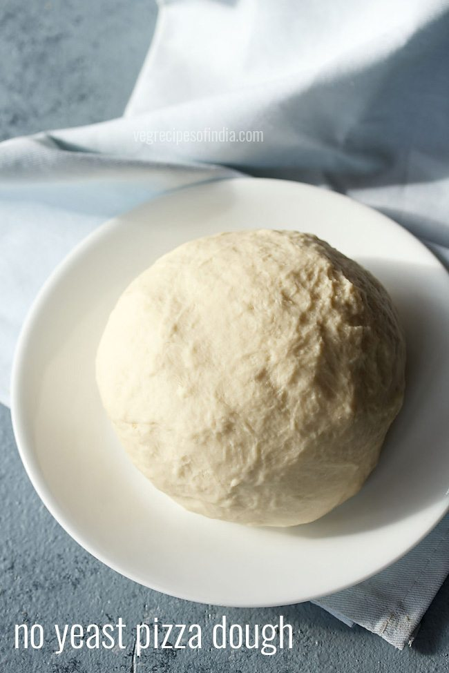 pizza dough, no yeast pizza dough