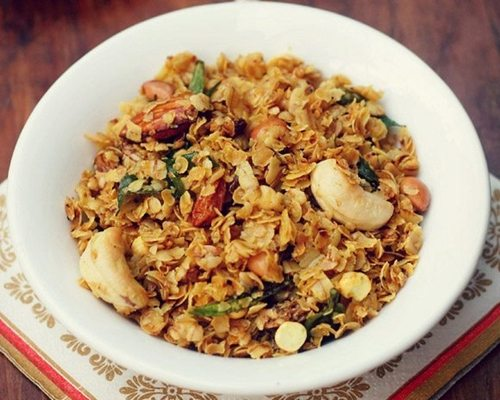 oats chivda recipe