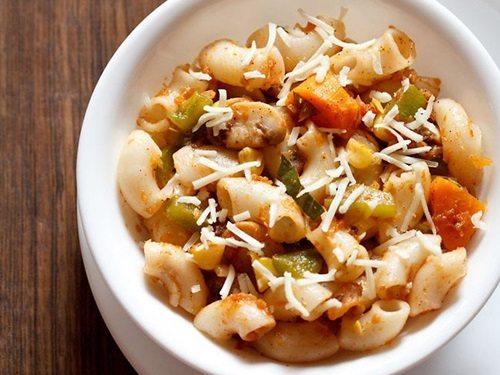 pasta in red sauce recipe