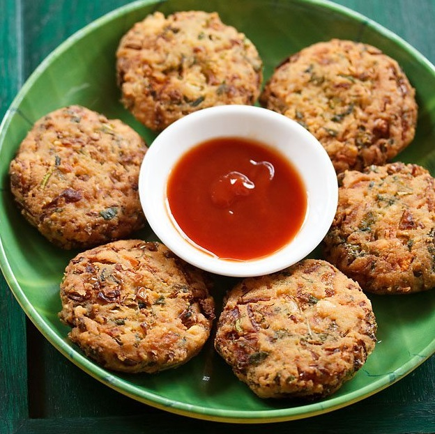 vada recipe with mixed vegetables, veg vada recipe