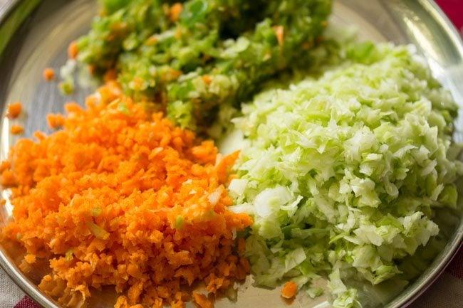 veggies for veg club sandwich recipe