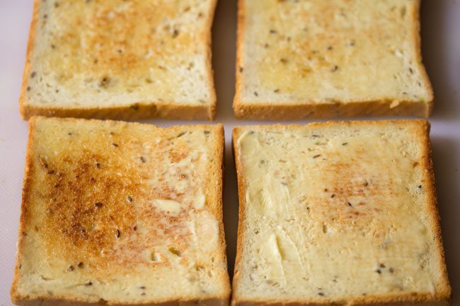 bread slices to make club sandwich recipe