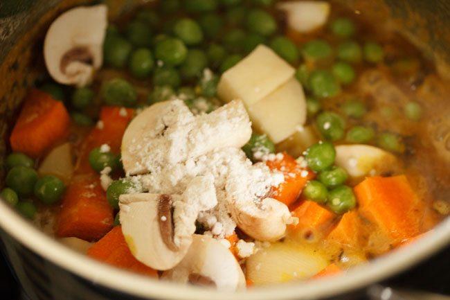 vegetables for veg masala recipe