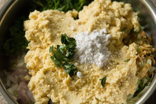 making veg dal vada recipe