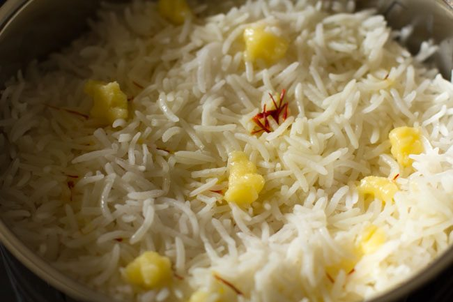 making veg awadhi biryani recipe