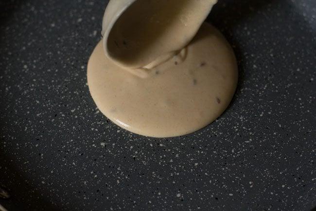preparing bread dosa recipe