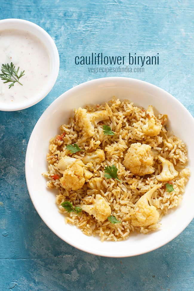 Cauliflower Biryani One Pot Gobi Biryani Dassana S Veg Recipes