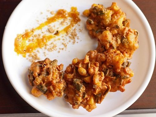corn pakora recipe