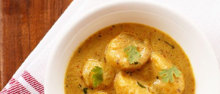 dum aloo recipe, how to make restaurant style dum aloo recipe