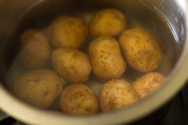 potatoes to make restaurant style dum aloo recipe
