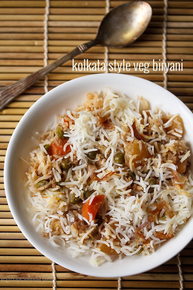 Kolkata style veg biryani recipe how to make kolkata veg biryani i prepare this biryani on occasions and so i thought of sharing the recipe too initially when i had made for the first time a couple of years back forumfinder Images