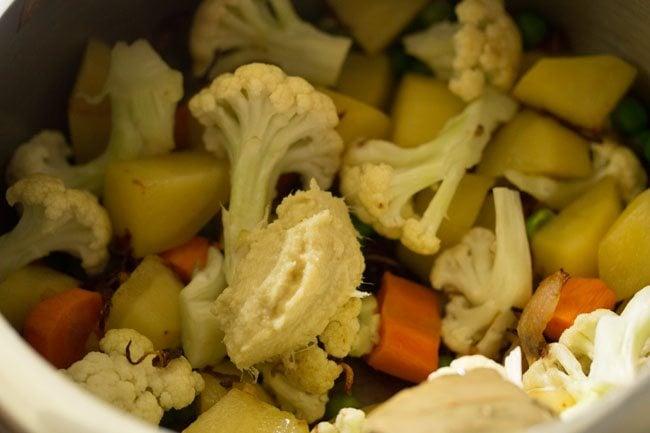 vegetables for kolkata veg biryani recipe