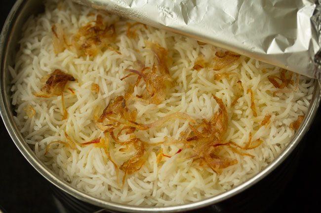 kolkata style veg biryani
