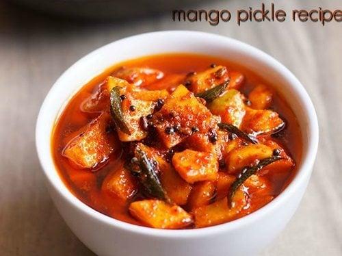 instant mango pickle