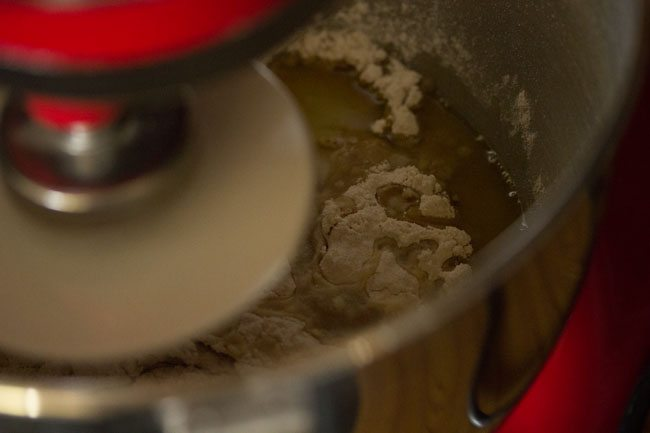 dough for preparing margherita pizza recipe