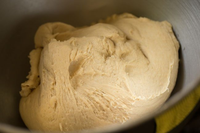 dough for preparing margherita pizza recipe