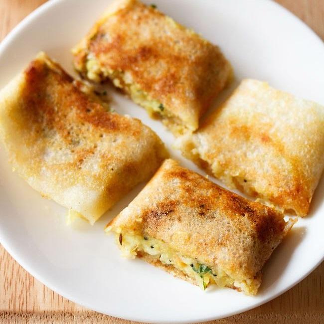 mumbai style masala dosa recipe