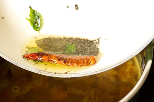 making mysore rasam recipe