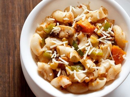pasta recipe in red sauce recipe