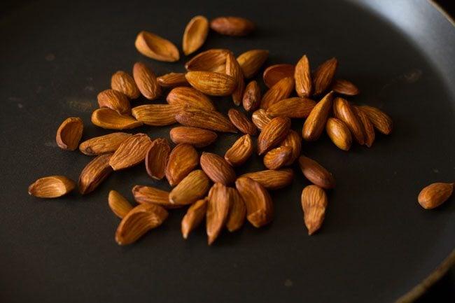 almonds for pesto pasta recipe:
