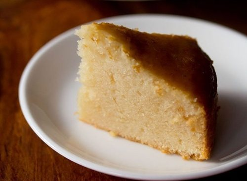 eggless sponge cake in pressure cooker