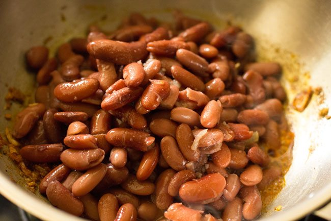 rajma for preparing rajma masala sandwich recipe