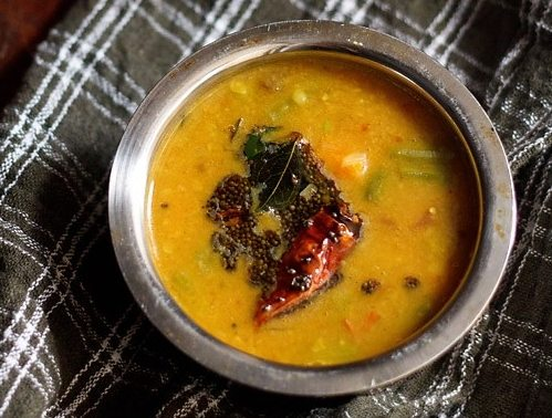 quick sambar recipe