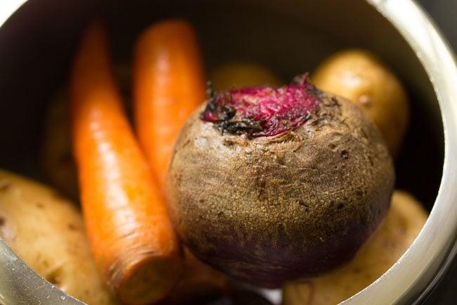 veggies for bengali style veg chops recipe