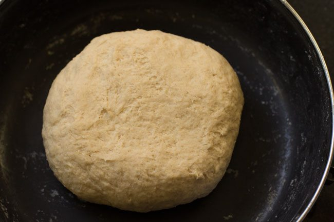 dough for veg kathi rolls recipe