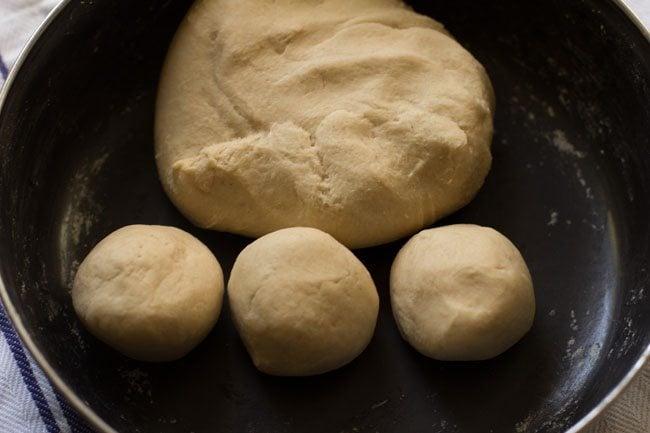 dough for making veg kathi rolls recipe