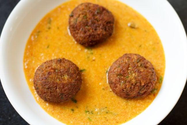 kofta recipe, veg kofta recipe, veg kofta curry recipe