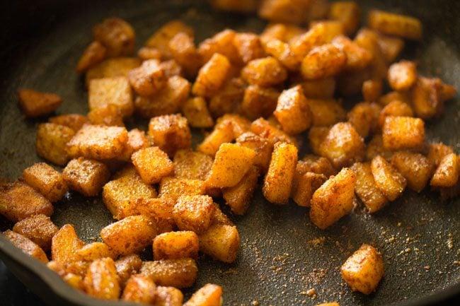 potato fry recipe, aloo fry recipe