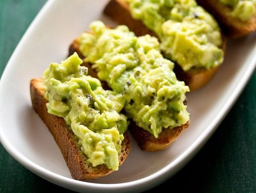 avocado garlic toast recipe