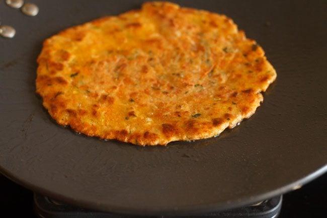 carrot paratha recipe