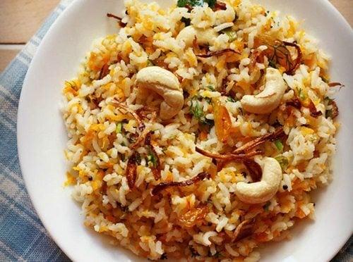 carrot rice recipe